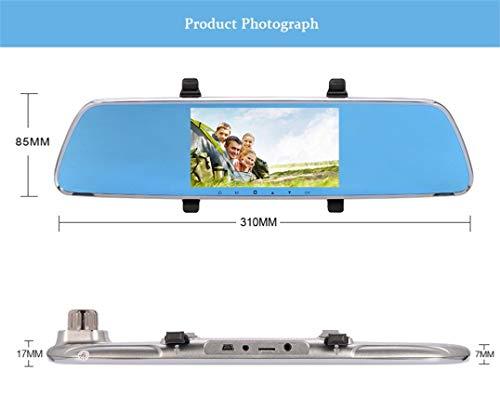 Dreamyth V25 1080P HD1.3MP Webcam Car DVR Dual Lens Cameras Vehicle Rear Video Recorder,,American Warehouse Shippment by Dreamyth (Image #3)