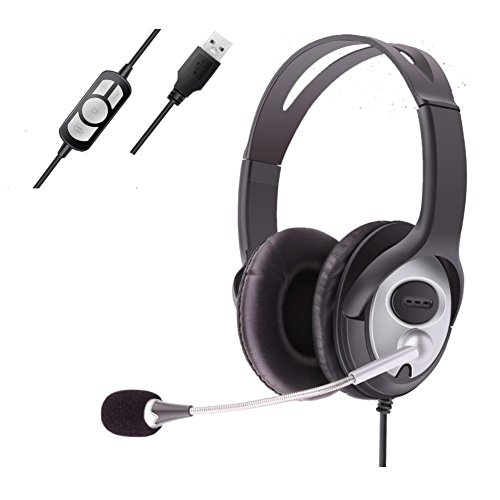 Headset Stereo 7.1 Surround Pro USB Gaming with Mi...
