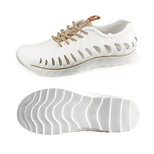 アンタゴニスト想定するバリケードサンダル アクアシューズ ビーチ靴 マリンシューズ 水陸両用 メンズ レディース 軽量 通気性のスポーツサンダル