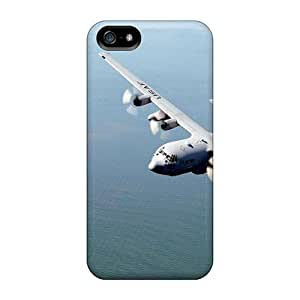 KzemJQY5958UnhJO Tpu Phone Case With Fashionable Look For Iphone 5/5s - Lockheed C 130 Hercules