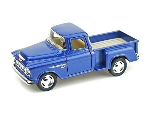 KiNsMART 1955 Chevy Stepside Pick-Up 1/32, Blue Little Blue Truck