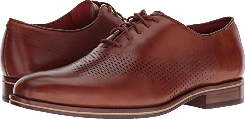 Cole Haan Lace Oxfords - Cole Haan Men's Washington Grand Laser Wing Oxford British Tan/Lava Energy 10 D US