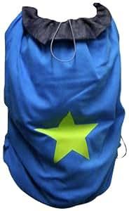 ByKay 91103 Winter - Cobertor de marsupio (diseño de estrella), color gris, azul y verde
