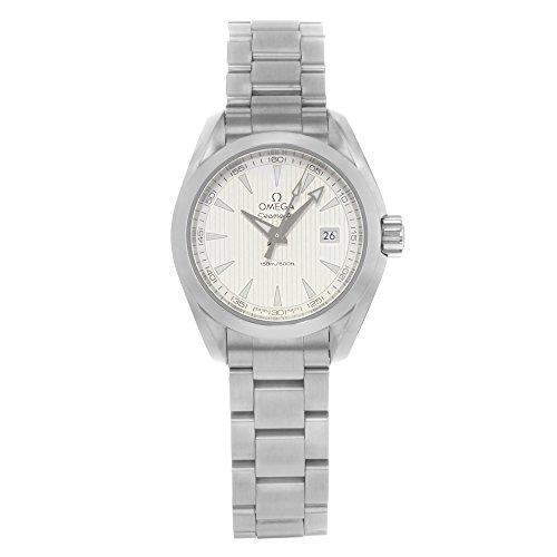Aqua Terra Stainless Steel Watch - Omega Aqua Terra Silver Dial Stainless Steel Ladies Watch 23110306002001