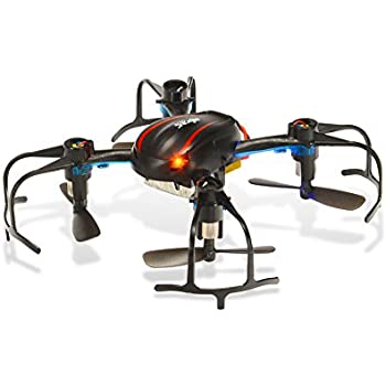 Rctown MJX X902 Mini RC Drone Helicopter, 2.4GHz Radio Control RC Quadcopter, 4CH 6 Axis Gyro, 360-degree 3D Rolling and LED Night-Lights - Black