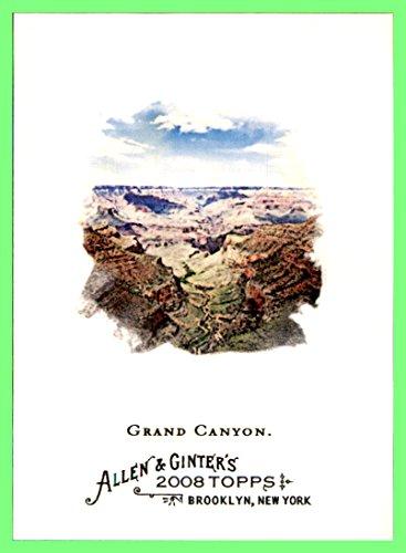 2008 Topps Allen and Ginter #144 Grand Canyon Colorado River Arizona - River Of Grand The Shops