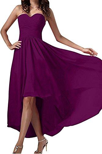 Ivydressing -  Vestito  - linea ad a - Donna Dunkelfuchsie 40