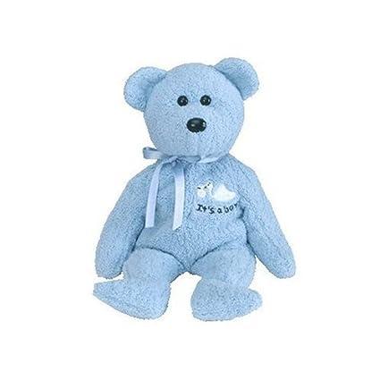 872f975e7db Amazon.com  TY Beanie Baby - BABY Boy the Bear  Toy   Toys   Games
