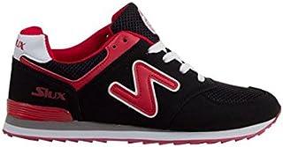 Siux Chaussures Tsunami Noires Rouge
