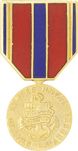 Navy Reserve Meritorious Service Medal Hat Pin