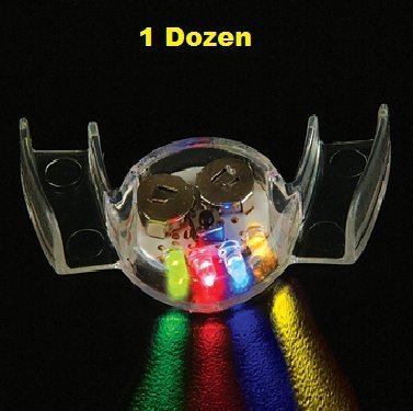 YMCtoys Light Up LED Flashing Mouthpiece (1 Dozen)]()