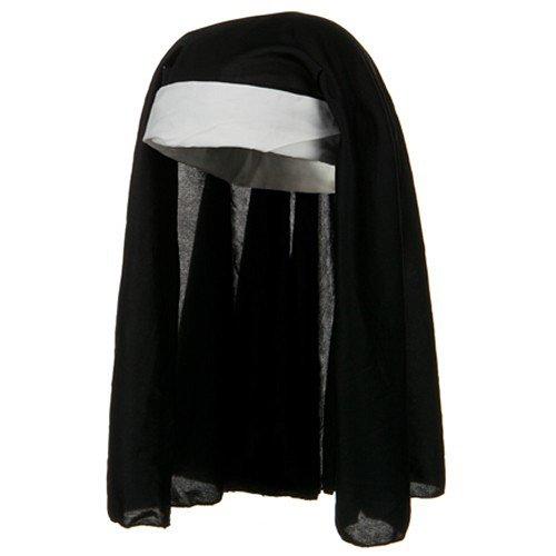 Black and White Catholic Church Novelty Nun (Halloween Catholic Church)