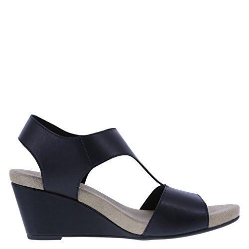 026251b9619 Predictions Comfort Plus by Women s Vanna Mid-Wedge Sandal