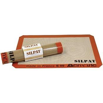 Silpat Premium Non-Stick Silicone Baking Mat, Medium, 9-7/16