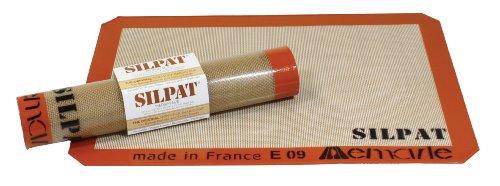 Silicone Baking Mat - Silpat Premium Non-Stick Silicone Baking Mat, Medium, 9-7/16