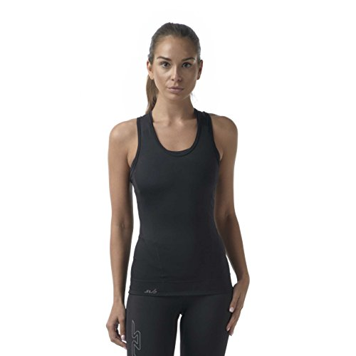 Sub Sports Womens Racer Back Vest Compression Top Sleeveless Tank Running -S ()