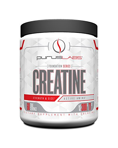 Purus Labs Foundation Series Creatine | 100% Ultra Pure Micronized Creatine | 60 Servings | Unflavored