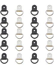 Kajak D-ring, sjorring, bevestigingsring, ring, ring, ring, V-ringen, haak, oppervlak, vloermontage, schroefsluiting, veilig sleepen, sjorren voor veilig trekken van aanhanger, boot, kajak enz