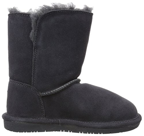 Bearpaw Abigail Charcoal Unisex Kids Shearling Boot Size 1M by BEARPAW (Image #7)