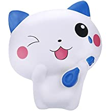 Gocheaper Squishy Toy, Squishy Jumbo Kawaii Cute Cat Soft Slow Rising Cream Scented Stress Relief Toy Gift