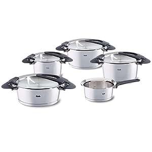 Fissler 1611805000 intensa bater a de cocina 5 piezas for Amazon bateria cocina