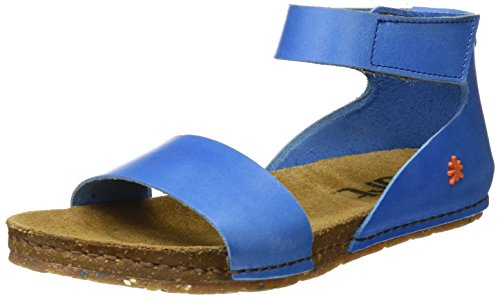 Mujer Mojave Sandalias de con Azul Correa 0440 Creta Tobillo Sea para Art zwqa75R7