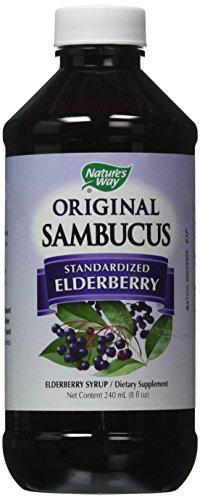 (Nature's Way Sambucus Original Syrup, 8 Fluid Ounce)