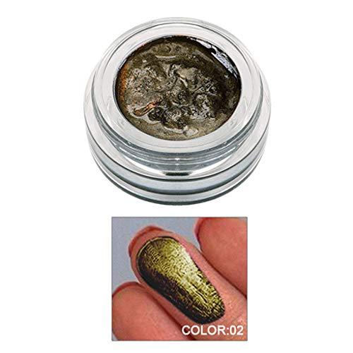 (GoodLock Hot!! 14 Colors Fashion Eyeshadow Ladies Jelly Gel Highlighter Concealer Shimmer Face Glow Make Up (B))