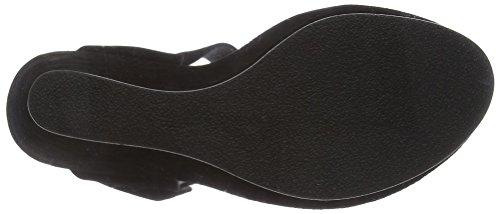 de Mentor Sandalias Negro Plataforma Mentor Wedge Niñas Sandal P8qwRI8v