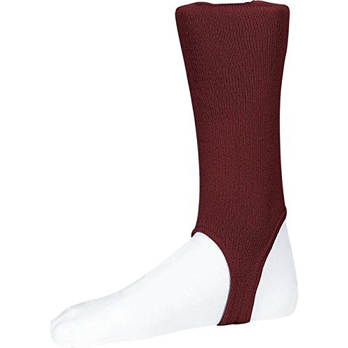 Twin City Solid Stirrup Socks 4 Maroon L 300A1-063-4