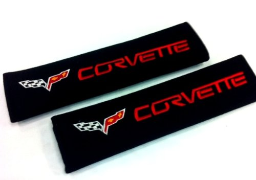 Corvette Seat Belt Cover Shoulder Pad Cushion (2 Pcs) for sale  Delivered anywhere in USA