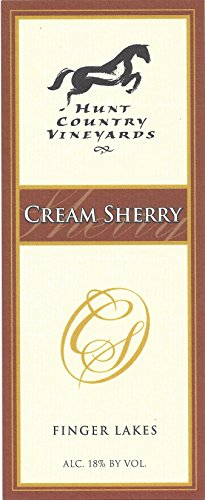 Hunt Country Cream Sherry Finger Lakes Estate