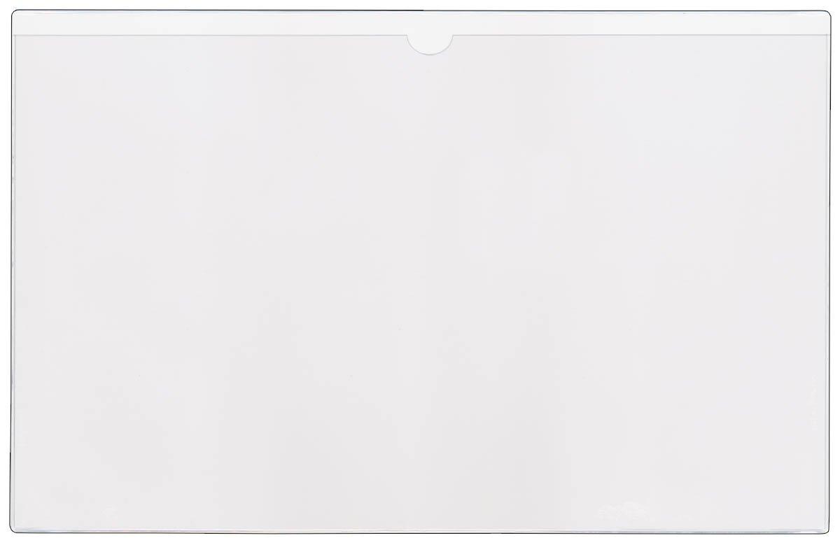 StoreSMART - File Jackets - 10-Pack - Clear Plastic - 11'' x 17 - FJ3512STC-10
