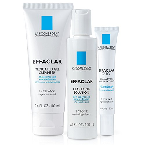 - La Roche-Posay Effaclar Dermatological Acne Treatment System, 2-Month Supply