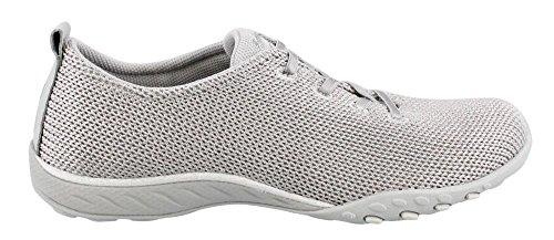 grises de libres Skechers Zapatillas manera de las la de de de deporte deporte de la mujeres del respiraci�n Serendipty SOUqxpnOd