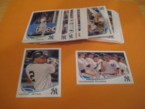 2013-topps-new-york-yankees-complete-mega-team-set-48-cards-shipped-in-an-acrylic-case-this-set-incl
