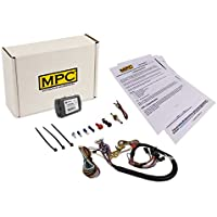 MPC Complete Add-on Remote Start w/Keyless Entry For 2014-2016 Chevrolet Impala - T-Harness - Uses OEM Remotes - w/FLU