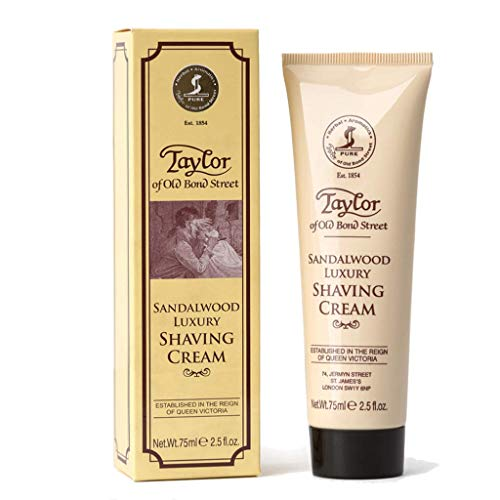 Taylor Of Old Bond Street Shaving Cream Sandalwood, 2.5-Ounce