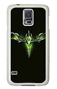 Samsung Galaxy S5 Cases & Covers - Green Creative Arts PC Custom Soft Case Cover Protector for Samsung Galaxy S5 - White