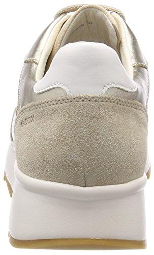 Geox Damen D Gendry B Sneaker Oro (oro Lt)