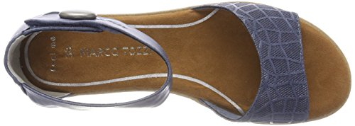 Marco Donne Tozzi 28118 Sandali Con Il Cinturino Blu (oceano)