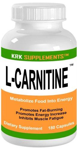 L-Carnitine 180 capsules 500mg