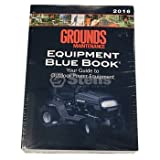 Stens 755-358 Ground Maintenance Blue Book, gives trade-in allowances and specs on most models, provides comprehensive lists of attachments for tractors