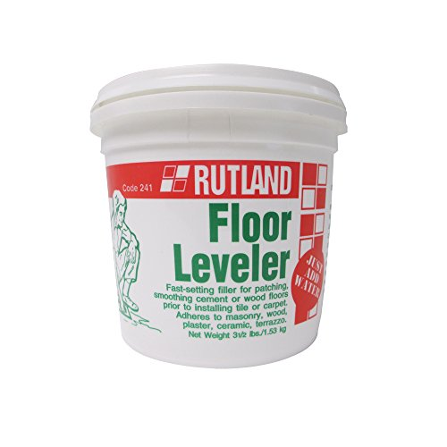 (Rutland Products 241 Floor Leveler - 3 1/2 Lb Tub, Gray )