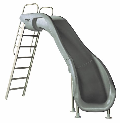S.R. Smith 610-209-58120 Rogue2 Pool Slide, Right Curve, Gray
