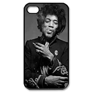 Popular Jimi Hendrix iPhone 4/4s Case Hard Back Case for iPhone 4/4s