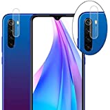 Dainty Camera Lens Protector Tempered Glass Gorilla Guard for Mi Redmi Note 8 (Transparent Camera Glass) (Pack of 1)