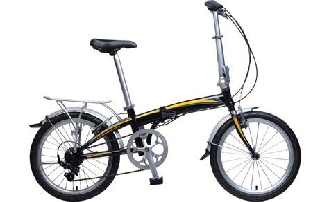 KHS F20-H7 Folding Bike 7 SPD Black