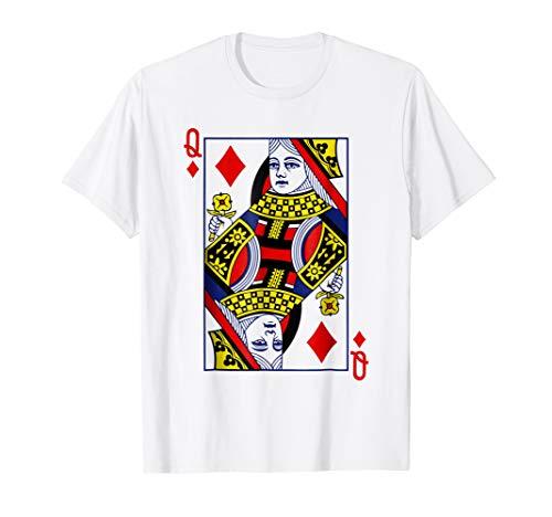 Queen Of Diamonds Playing Card Halloween Costume -