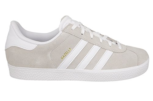Price comparison product image Adidas Originals Kids' Gazelle Off White BA9318 5.5